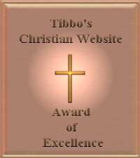 Tibbo's Christian Website Award of Excellance